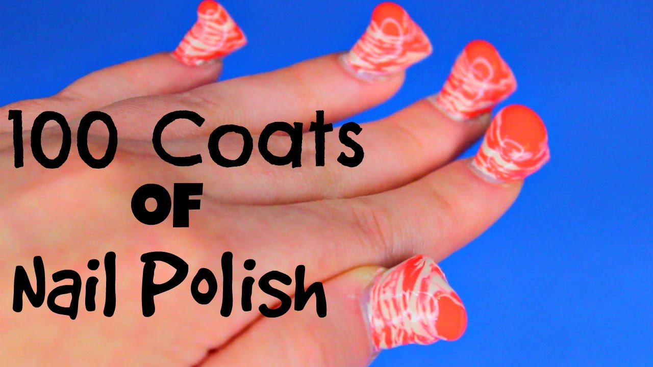 100 Coats Of Nail Polish Polishmountain Experimenting Layered Hacks You