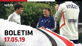 BOLETIM + CUCA: 17.05   SPFCTV