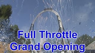 Full Throttle Grand Opening at Six Flags Magic Mountain - World