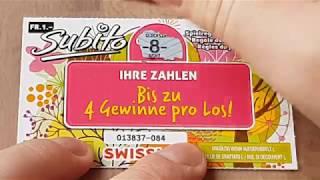 Schweizer Einsendung weggerubbelt
