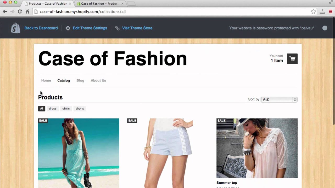 A fashion website - How To Make A Fashion Website