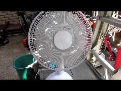 Family Dollar Modle No. OUTF-30 Table Fan (2014)