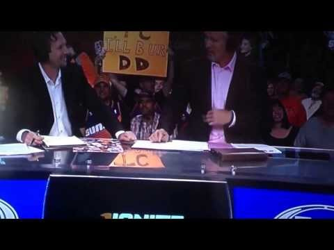 Suns Live pre game show with Tom Chambers.