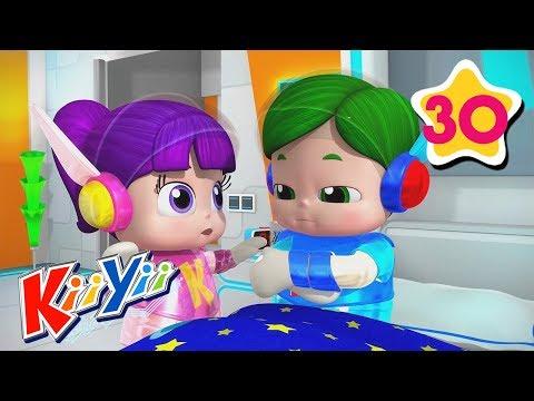 Sick Song | ABCs and 123s | by KiiYii | Nursery Rhymes & Kids Songs