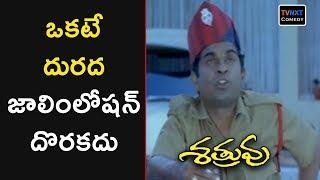 Shatruvu Movie Comedy Scenes | Brahmanandam Halirous Comedy Scene | TVNXT Comedy