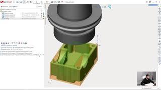[Урок по фрезерной обработке в SprutCAM 12] 05 - [Первый установ] чистовая обработка 2d контур