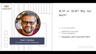 OLTP or OLAP: why not both?