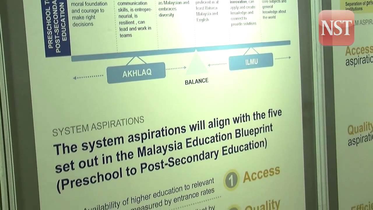 Malaysia s higher education blueprint 2015 2025 new blueprint will transform higher education dpm youtube malvernweather Images