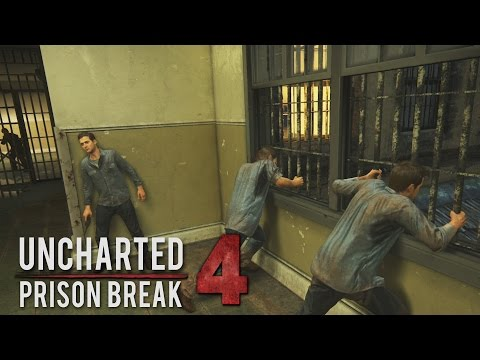 Uncharted 4 - Prison Break Gameplay