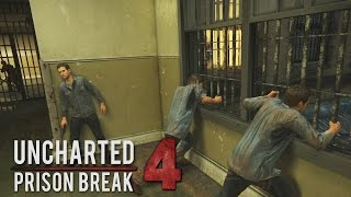 "Uncharted 4 - Prison Break Gameplay ""NO SPOILERS"" (Escaping Prison)"