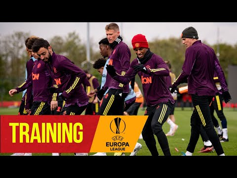 Training | Reds prepare for AS Roma semi-final clash | Manchester United | UEFA Europa League