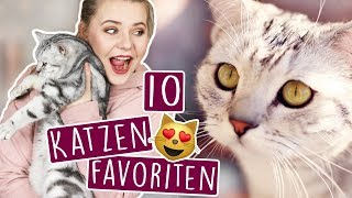 UNSERE 10 BESTEN KATZEN FAVORITEN! 😍🐱 (Gadgets, Spielzeug & mehr!)