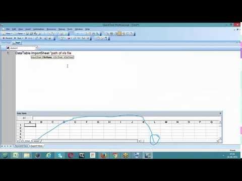 Data Table Methods In Qtp/uft-importsheet Method