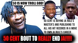 Скачать 50 Cent IS BUYING JA RULE S PUBLISHING AND MASTERS