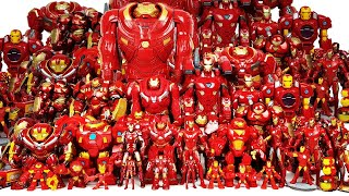 Iron Man, Hulkbuster Army Assemble! Avengers, Hulk Go~! Spider-Man, Captain America, Thor, Thanos