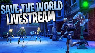 Fortnite - Save The World Livestream With David Dean