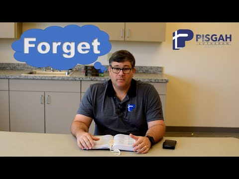 Word for Wednesday: Forget