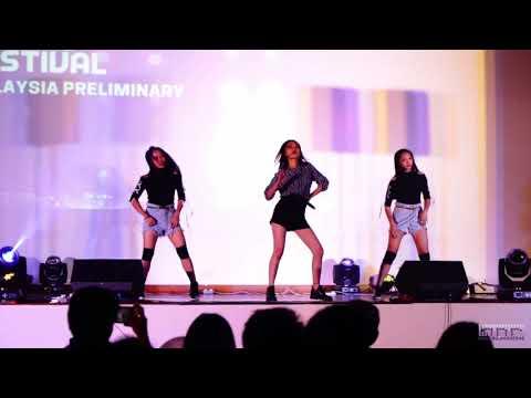 Elica Paujin Champion Changwon 2018 K-POP World Festival.