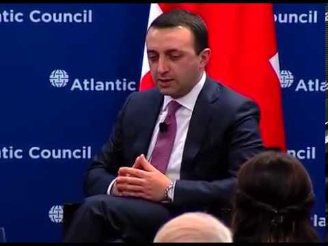 Georgia's Prime Minister at the Atlantic Council of the United States