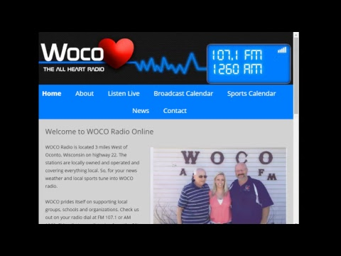 WOCO Radio Sports Stream - Marion vs Oconto Basketball at Gillett High School Dec 29 2017