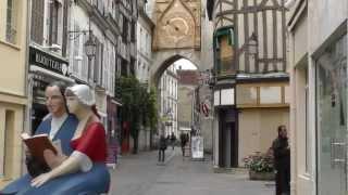 Auxerre- Hauptort Departement Yonne- Burgund-France JL FILM2012