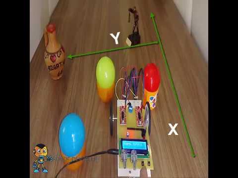 Arduino Harita Robotu (Koordinat Girişli)