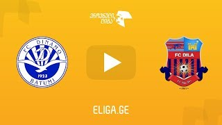 Dinamo Batumi vs Dila Gori full match