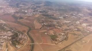 Вылет самолета из Лиссабона.