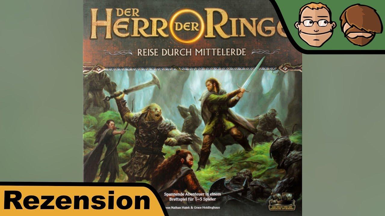 Der Herr der Ringe: Reise durch Mittelerde - Brettspiel - Review