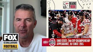 Urban Meyer previews the National Championship Game   Breaking the Huddle w/Joel Klatt   CFB ON FOX