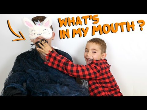 CHALLENGE WHAT'S IN MY MOUTH - Halloween Édition - Swan VS Néo