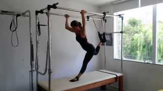 Exercício avançado de Pilates - Cadilac - Tatiana Pilates 2015 4