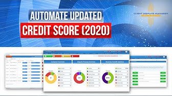 Credit Repair Software:Automate Updated Credit Score(2020)