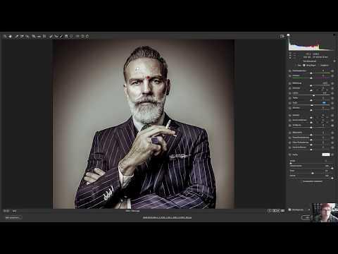 Charakter Portrait im Camera RAW entwickeln: Photoshop german / deutsch