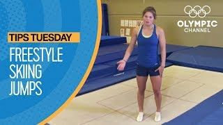 How to use the Trampoline for Freestyle Skiing | Olympians' Tips