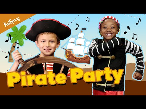 Pirate Party | Preschool Song