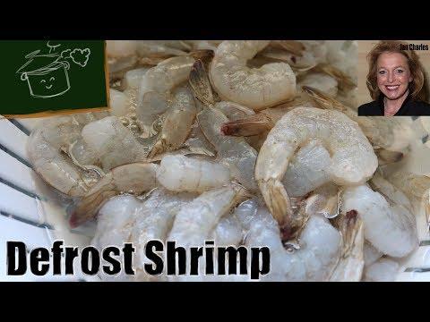 How To Defrost Frozen Shrimp Fast,Great Kitchen Hack, Quickest, Easiest Way To Defrost Frozen Shrimp