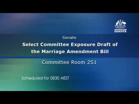 Exposure Draft of the Marriage Amendment Same Sex Marriage 20170125