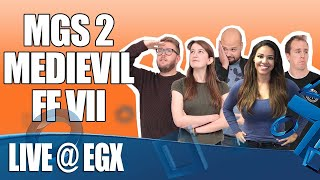 LIVE from EGX - Metal Gear Stupid, PS Quiz plus loads more!