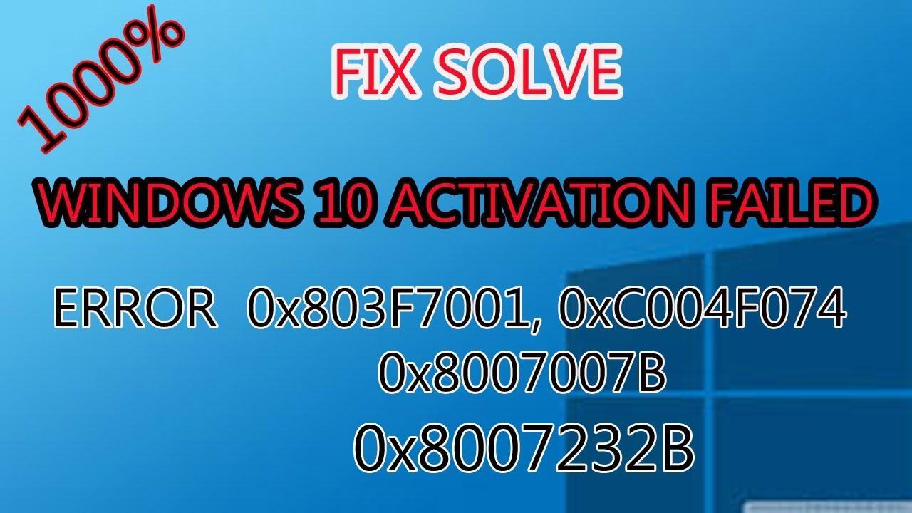 0xc004f074 windows 7 activation