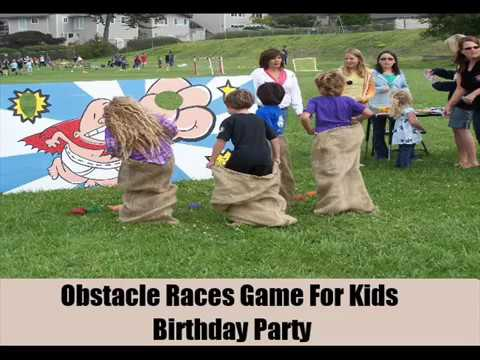 11 Games Ideas For Kids Birthday Party