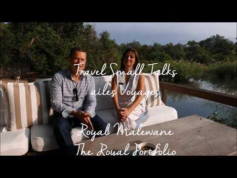 Travel Small Talks - Royal Malewane The Royal Portfolio - Spa Manager Melinda & Manuel Chablais - Ai