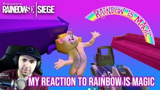 My Reaction To Rainbow is Magic