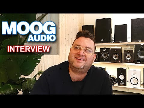 MOOG AUDIO   Interview W/ Founder Alexandre Kano   Synthesizers & Music