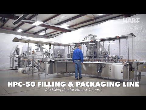 HPC 50 5lb Filling Line - Full Length | Filling Equipment | HART Design & Manufacturing
