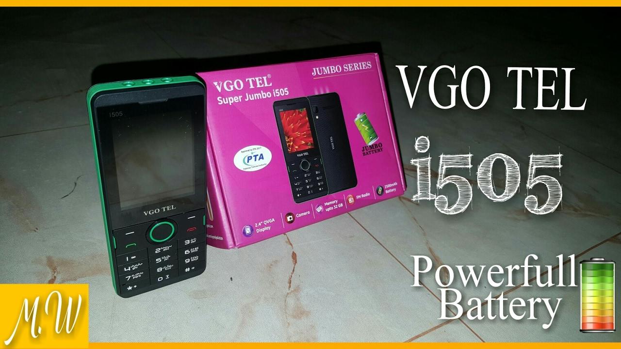 VGOTEL i505 Review By Mobile World Urdu by Mobile World Urdu