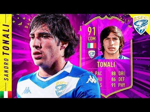 WHAT A CARD!! 91 FUTURE STARS TONALI REVIEW!! FIFA 20 Ultimate Team