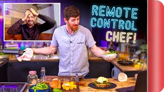 "CHEF is ""REMOTE CONTROLLED"" by a NORMAL!! 