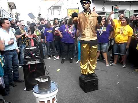 New Orleans Bounce Mardi Gras 2012