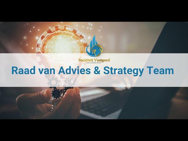 In gesprek met RVA & Strategy Team  Sociëteit Vastgoed